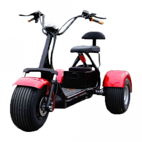 электросамокат SEEV Citycoco Tricycle 1200W