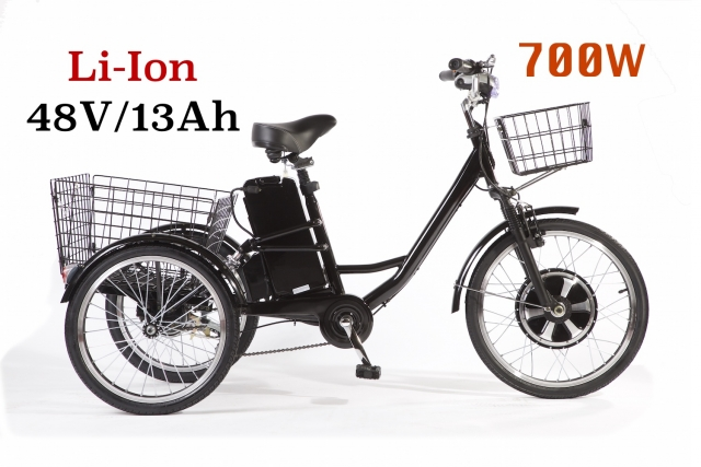 Электровелосипед трицикл E-Tricycle (GM Porter) (700W !!!)